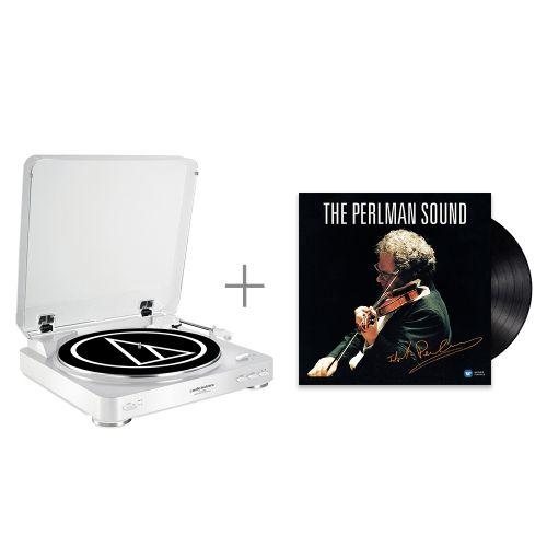 鐵三角 AT-LP60 WH 黑膠唱盤 與 帕爾曼...