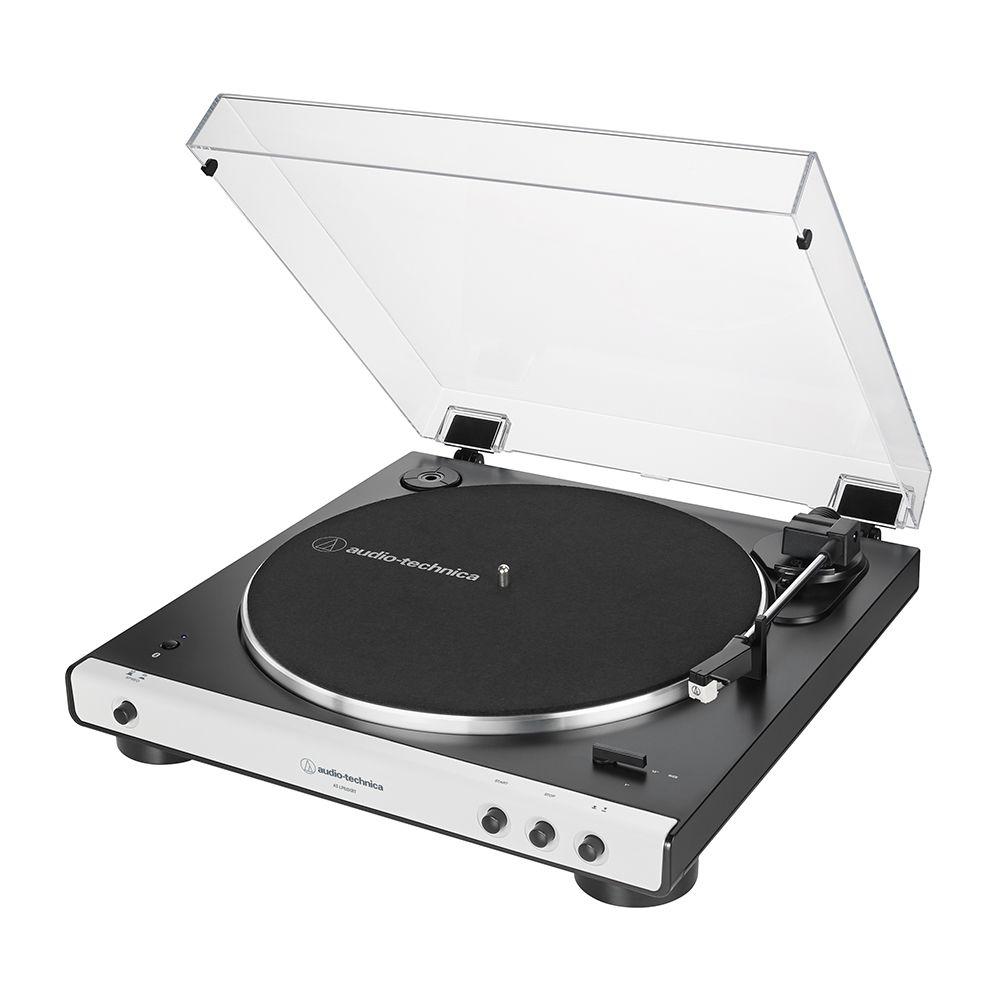 拆封福利品▶鐵三角AT-LP60XBTWH 白色 無線藍牙黑膠唱盤