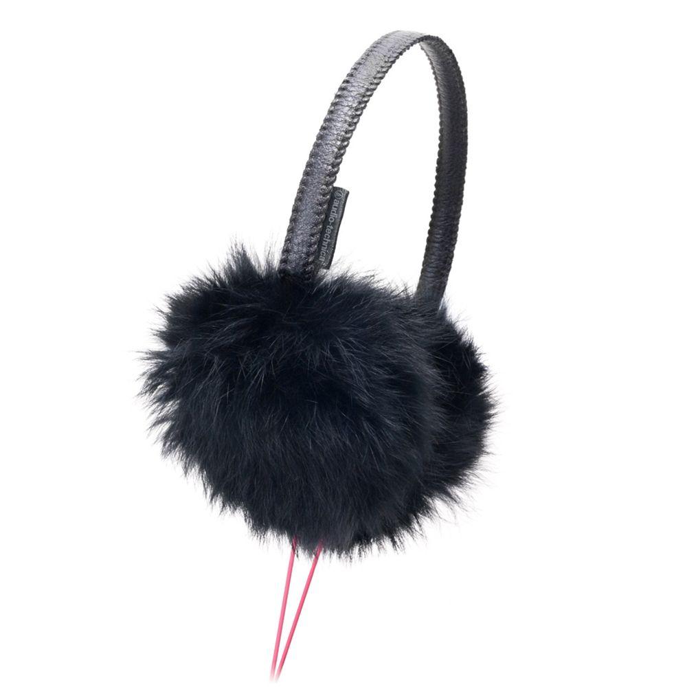 鐵三角 ATH-FW44 黑色 耳罩式耳機
