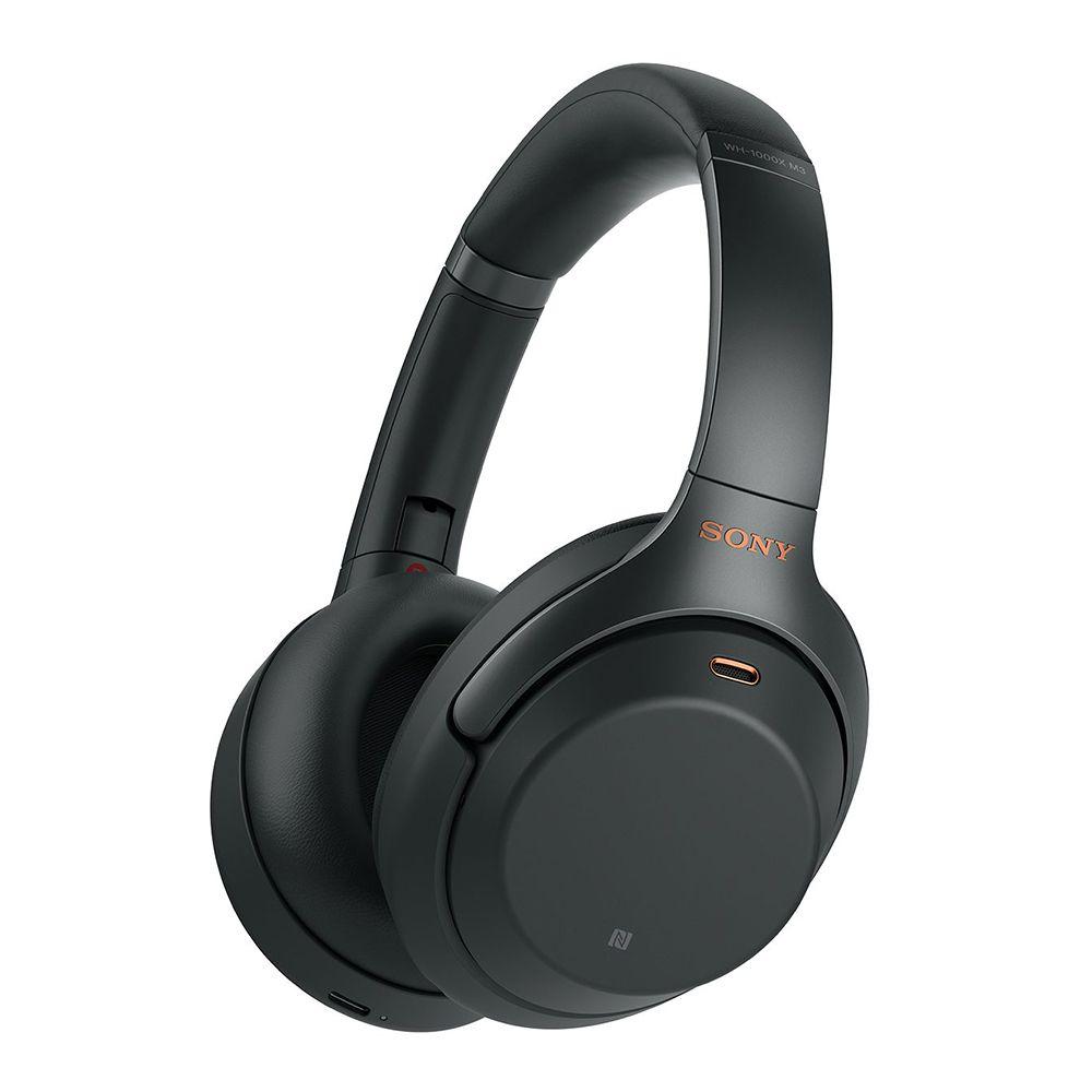 拆封福利品▶SONY WH-1000XM3 黑色 無線藍牙降噪 耳罩式耳機