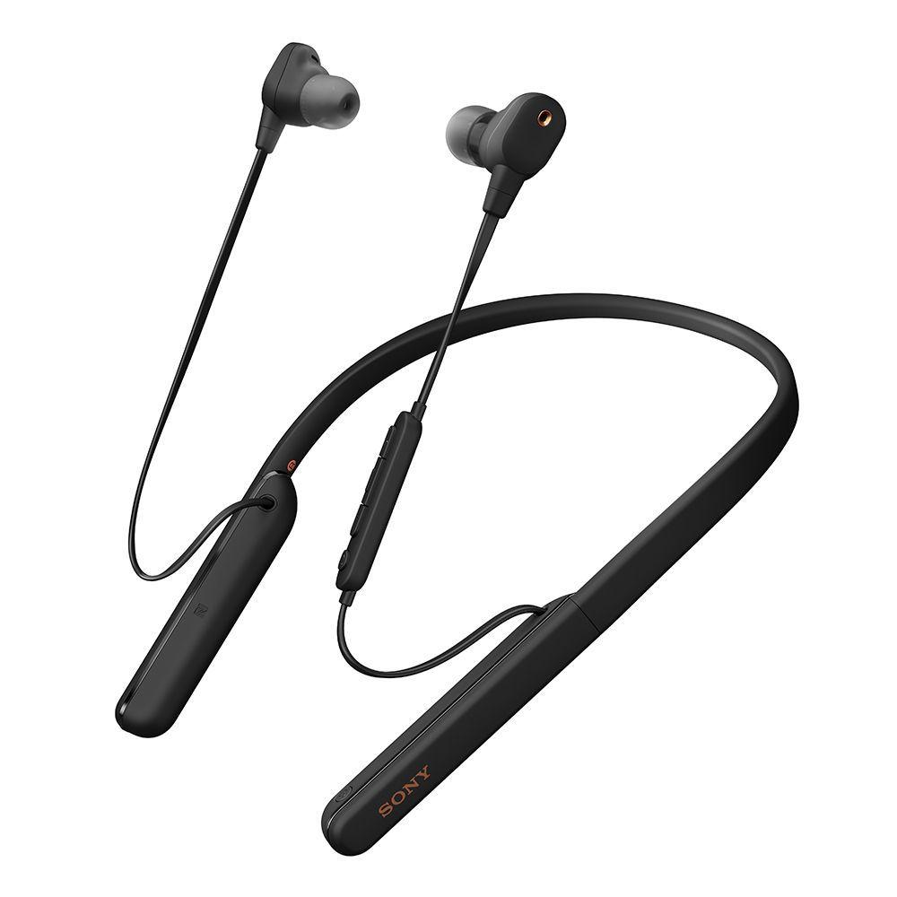 拆封福利品▶SONY WI-1000XM2  黑色 無線降噪 頸帶入耳式耳機