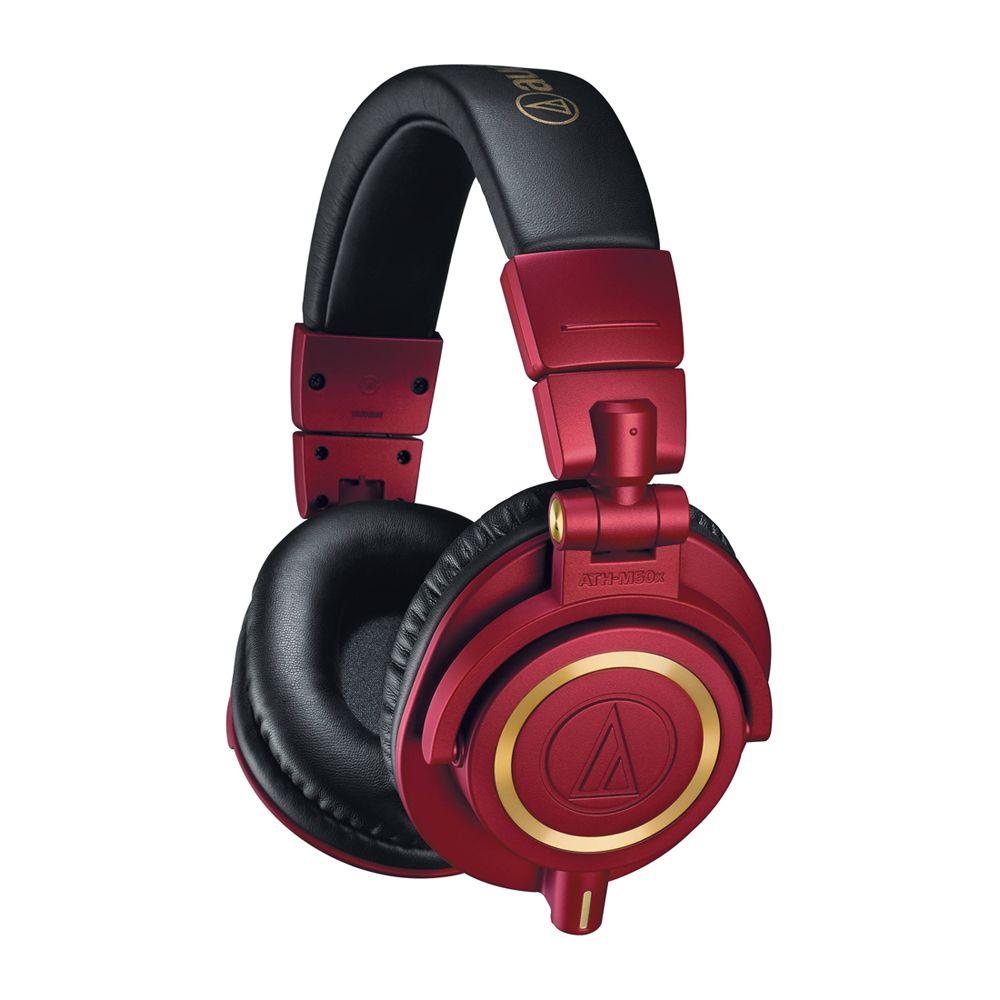 鐵三角 ATH-M50xRD 紅金色 耳罩式耳機