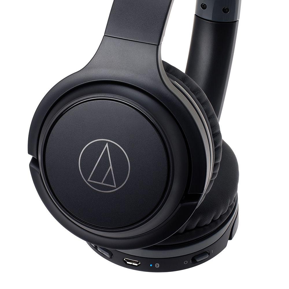 拆封福利品▶鐵三角 ATH-S200BT 黑色 無線耳罩式耳機