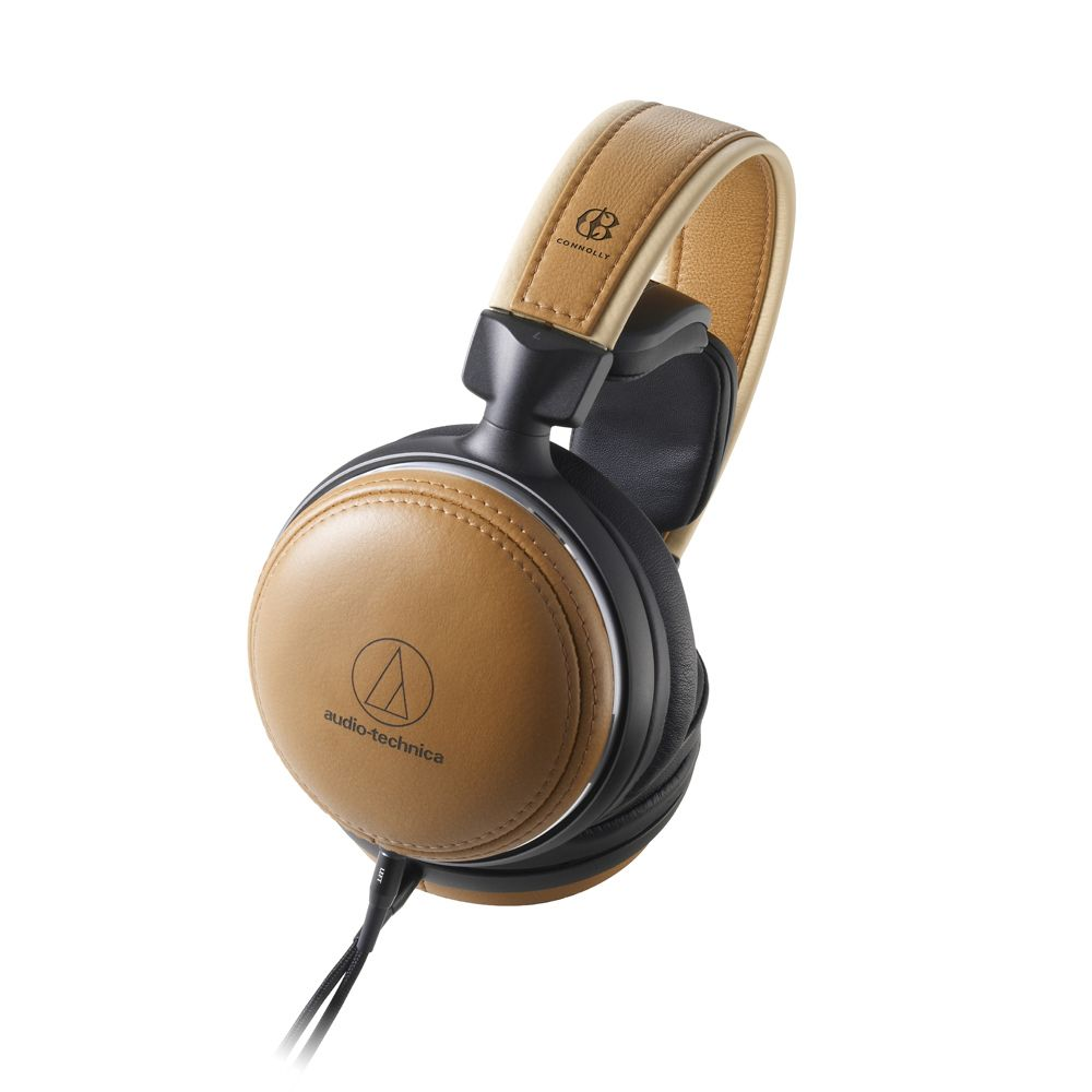 鐵三角 ATH-L5000 康諾利皮革 楓木機殼 旗艦耳機
