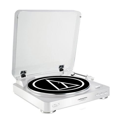 拆封福利品▶鐵三角 AT-LP60 白色 黑膠唱盤