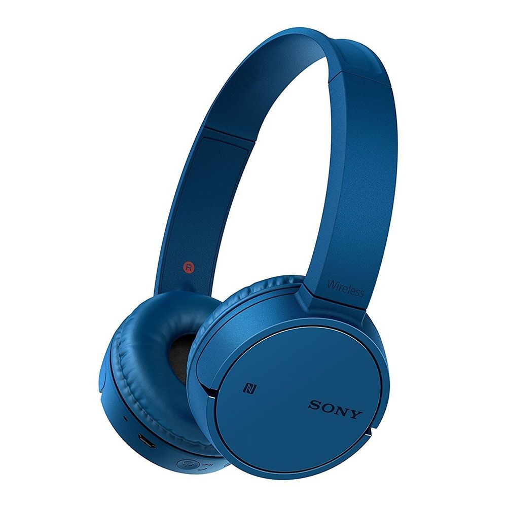 福利品▶SONY WH-CH500 藍色 無線耳罩式耳機