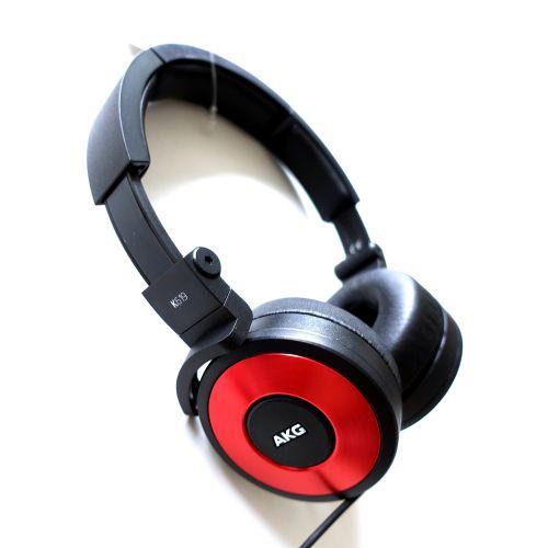 展示機出清▶AKG K619 紅色 線控耳機(福B...
